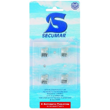 SECUMAR Automatik tabletter for 4001S.