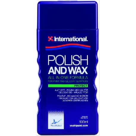 International Polish and Wax 500 ml.