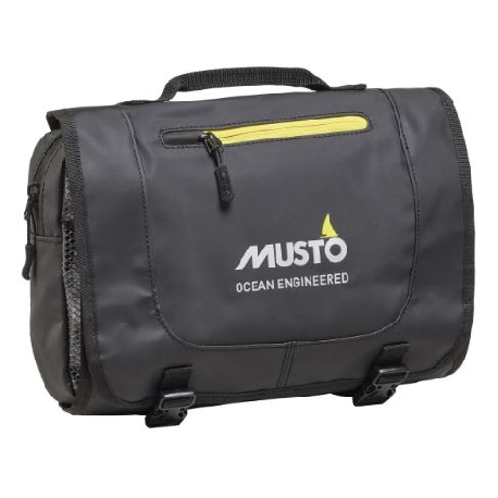 MUSTO Evo Ocean Washbag Black